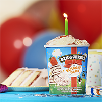 New Flavour Alert: Birthday Cake!