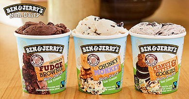 Ben & Jerry's Non-Dairy has officially arrived.