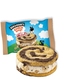 Flavor Detail Page - Cookie Dough 'Wich