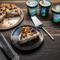 Recipe: Halloween Treats Ice Cream Cake