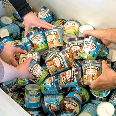 Ben & Jerry's - he Pint Sprint